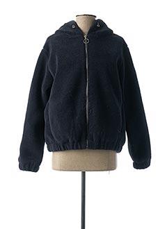 Manteau court bleu BECKARO pour enfant