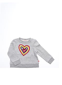 Sweat-shirt gris BILLIEBLUSH pour fille