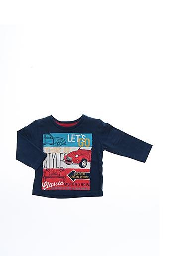 T-shirt manches longues bleu BOBOLI pour garçon