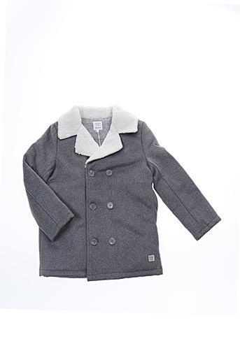 Manteau long gris CARREMENT BEAU pour fille