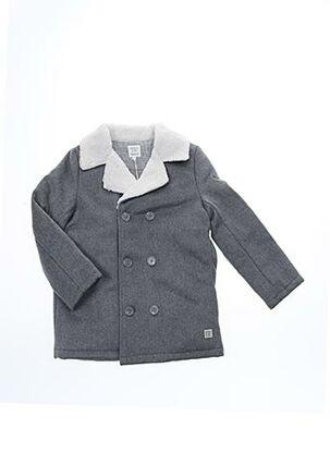 Manteau long gris CARREMENT BEAU pour fille