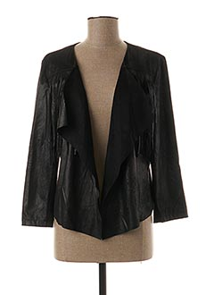 Veste casual noir EDAS pour femme
