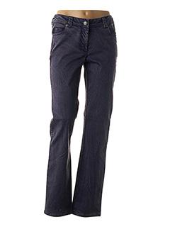 Pantalon casual violet EVER EASY BY JAC JAC pour femme