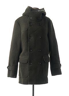 Manteau long vert IMPERIAL pour femme