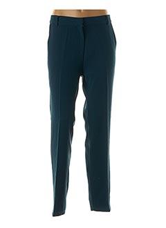 Pantalon chic bleu AN' GE pour femme