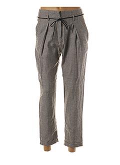 Pantalon casual gris ORFEO pour femme