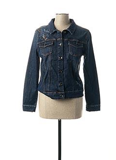 Veste en jean bleu MERI & ESCA pour femme