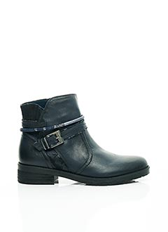 Bottines/Boots bleu FUGITIVE BY FRANCESCO ROSSI pour femme