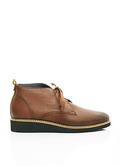 Derbies marron FUGITIVE BY FRANCESCO ROSSI pour femme