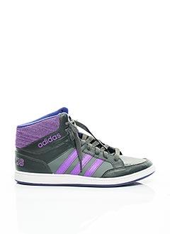 Baskets violet ADIDAS pour fille