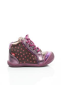 Bottillons violet NA! pour fille
