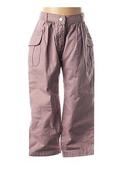 Pantalon casual rose PETIT BATEAU pour fille
