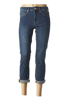Jeans coupe slim bleu DDP pour femme