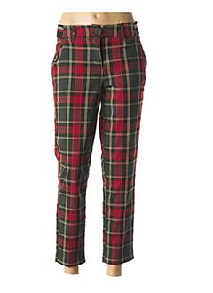 Pantalon 7/8 rouge DDP pour femme