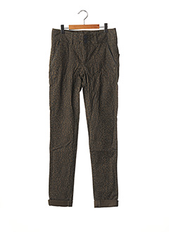 Pantalon casual vert ON.YOU pour femme