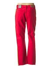 Pantalon casual rouge CALVIN KLEIN pour femme seconde vue