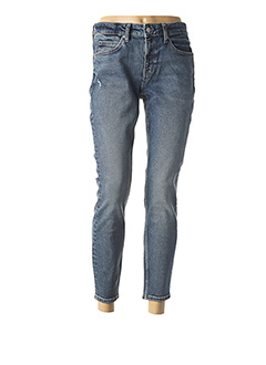 Jeans coupe slim bleu CALVIN KLEIN pour femme