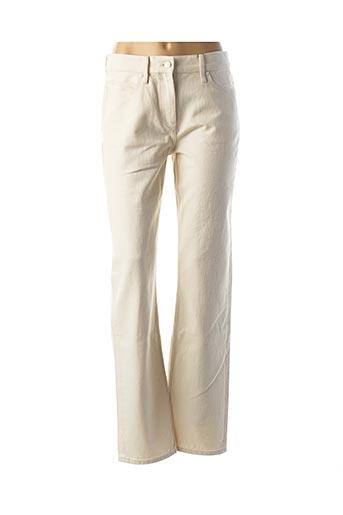 Pantalon casual beige CALVIN KLEIN pour femme