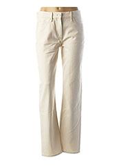 Pantalon casual beige CALVIN KLEIN pour femme seconde vue