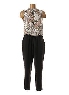 Combi-pantalon noir S.OLIVER pour femme