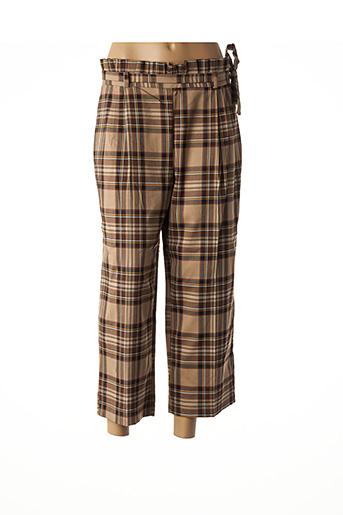 Pantalon 7/8 beige IMPERIAL pour femme