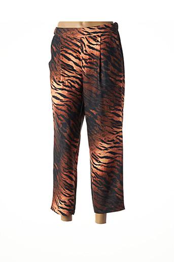 Pantalon 7/8 marron DIXIE pour femme