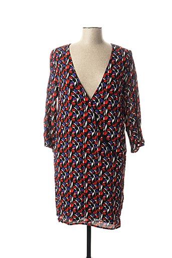 Robe mi-longue rouge IMPERIAL pour femme