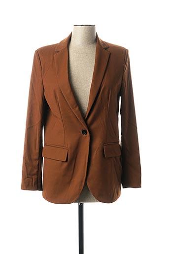 Veste chic / Blazer marron IMPERIAL pour femme
