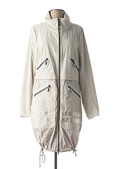 Imperméable/Trench beige CREENSTONE pour femme