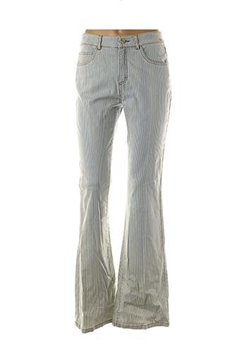 Jeans bootcut bleu ANINOTO pour femme