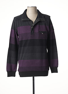 Sweat-shirt violet OLIVER HOLTON pour homme