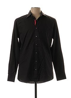 Chemise manches longues noir BEN GREEN pour homme