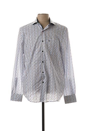 Chemise manches longues blanc FELLOWS pour homme