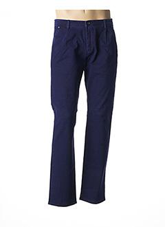 Pantalon chic bleu PIONEER pour homme