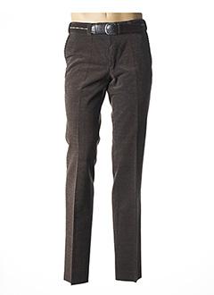 Pantalon chic marron BECKER pour homme