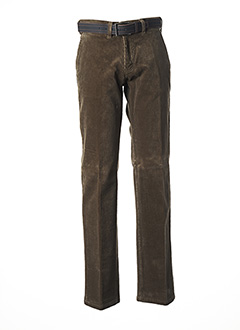 Pantalon chic marron PIONEER pour homme