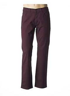 Pantalon casual rouge PIONEER pour homme