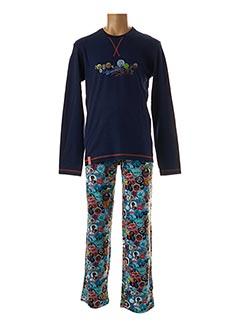 Pyjama bleu SOY pour homme
