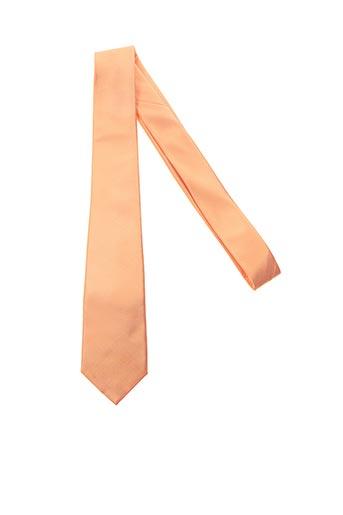 Cravate orange CHANTOUN pour homme