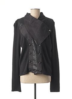 Veste casual noir DDP pour femme