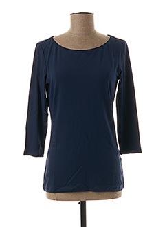 T-shirt manches longues bleu HUGO BOSS pour femme