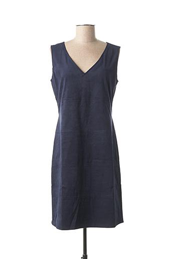 Robe mi-longue bleu TOM TAILOR pour femme