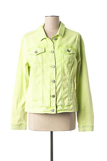 Veste casual vert CECIL pour femme