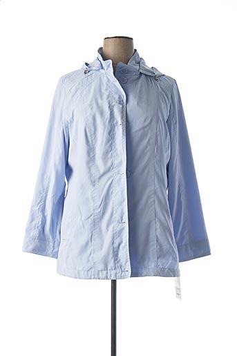 Parka bleu CONCEPT UK pour femme