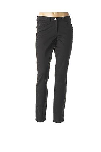 Pantalon casual noir CECIL pour femme