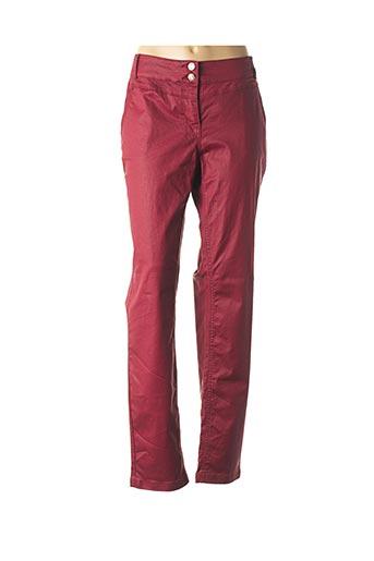 Pantalon casual rouge CECIL pour femme
