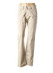 Pantalon casual beige PIERRE CARDIN pour femme seconde vue
