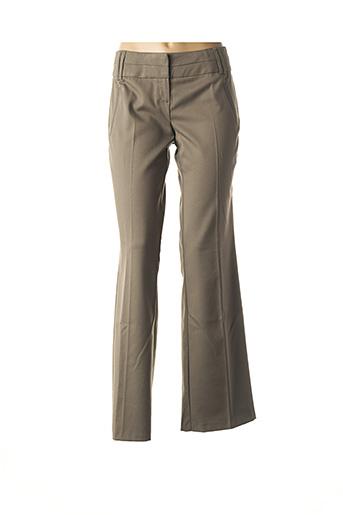 Pantalon chic vert VERO MODA pour femme