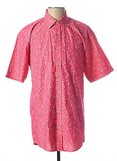 Chemise manches courtes rose BEN GREEN pour homme