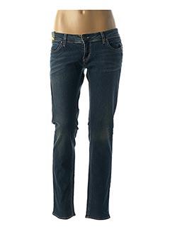 Jeans coupe slim bleu MELTIN'POT pour femme